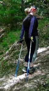 Technique de base marche nordique