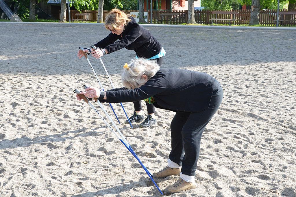 Cours initiation découverte marche nordique